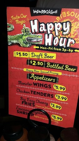 Saint Rose, LA: At least they have a good happy hour