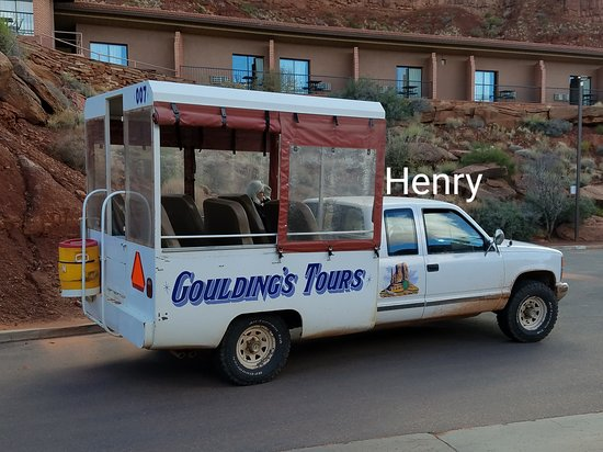 Henry our guide Picture of Goulding's Monument Valley