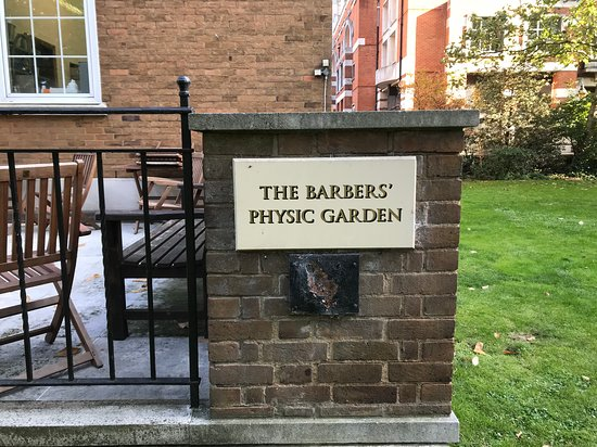The Barbers' Physic Garden