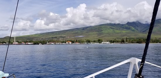 Trilogy Excursions: Great day for snorkeling and sailing!