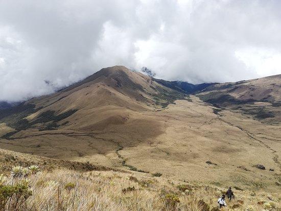 Cauca Department, Colombia: Vista desde Cima 1 Volcan Sotara