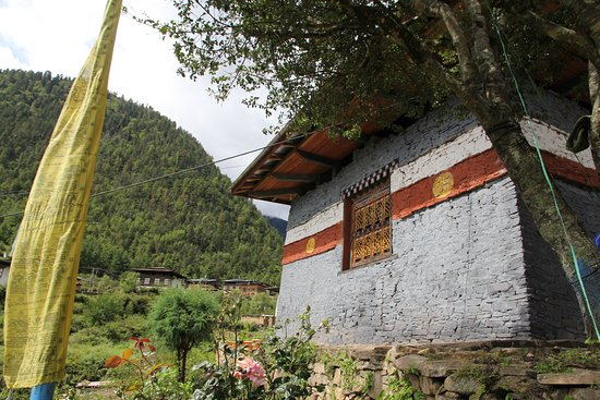 Haa District, Bhutan: Black Temple