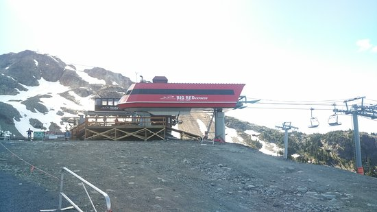 Whistler Blackcomb: Red Red Express to Creekside