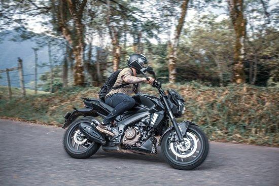 Colombia Moto Adventures: Rent a Dominar 400 in Medellin, Colombia