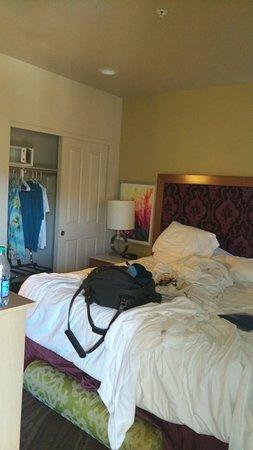 Messy Master Bedroom.