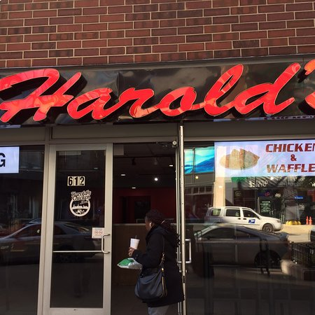 Harolds Chicken Shack Chicago 612 S Wabash Ave South Loop