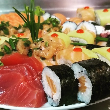 Manaka Sushi: Peixe fresquinho todos os dias
