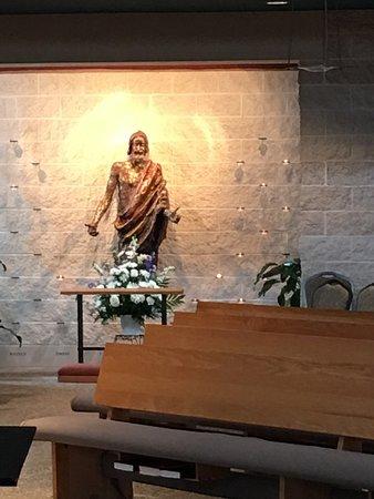 Holy Family Catholic Community side altar