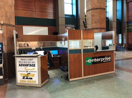 Rensselaer, NY: The rental car desk