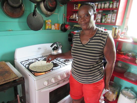 Unitedville, Belize: Fresh tortillas made by hand with love