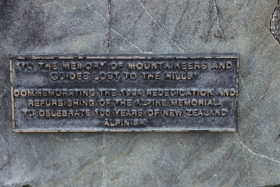 Alpine Memorial - information