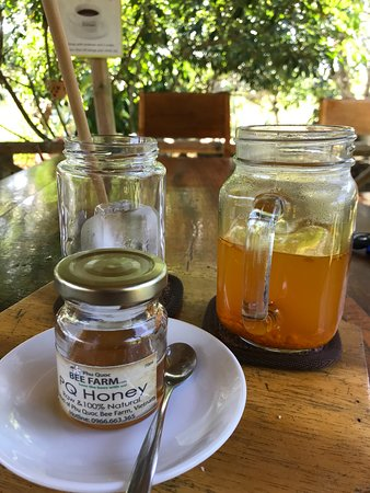 Phu Quoc Bee Farm Cafe: Turmeric honey tea