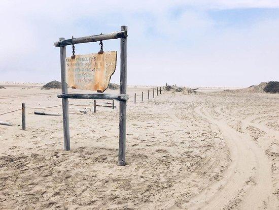 entrée du Namib