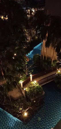Grand Mercure Phuket Patong: took this at night from my room