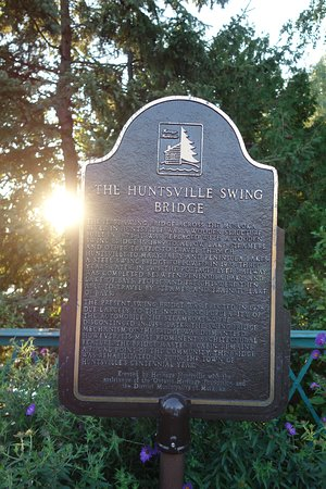 The Huntsville Swing Bridge