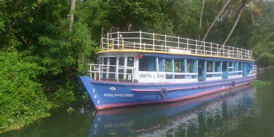 40 seater sight seeing multi floor boat