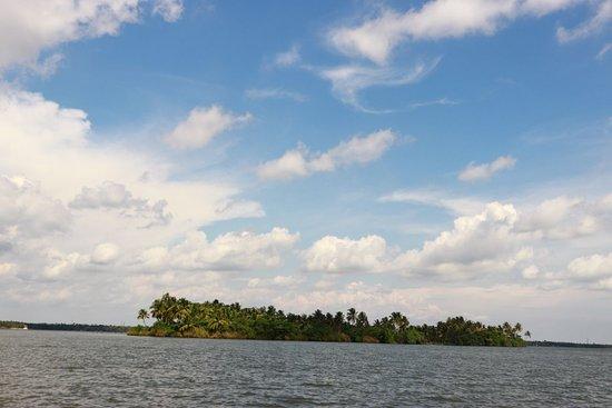 view of island from shikkara