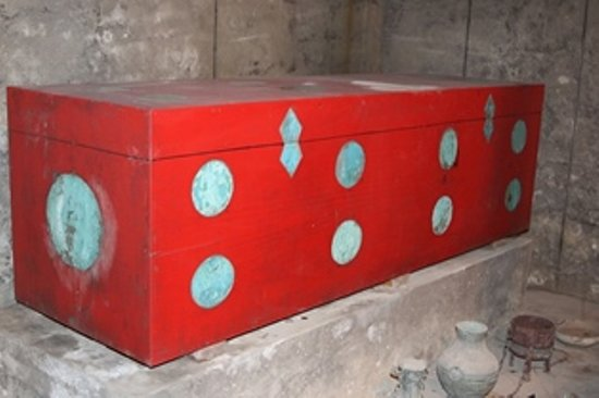 Mancheng County, Κίνα: Coffin