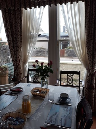 Lower Largo, UK: Sala colazione