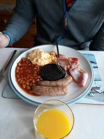 Lower Largo, UK: Full Scottish Breakfast
