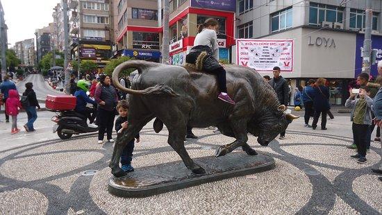 Kadikoy Bull Statue