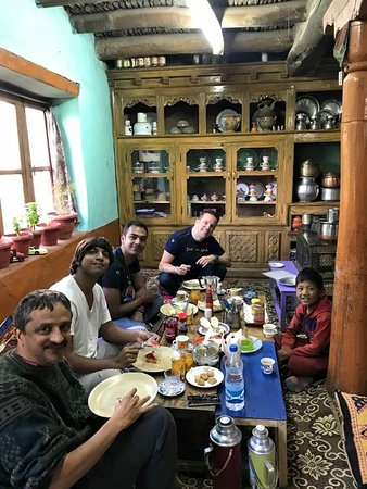 Likir, India: Ladakhi Sitting room