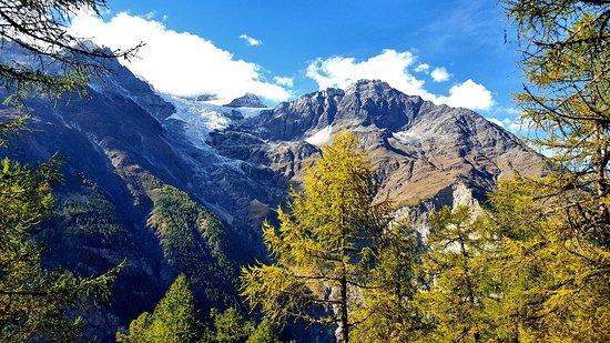 Randa, Suiza: Ao longo do trilho