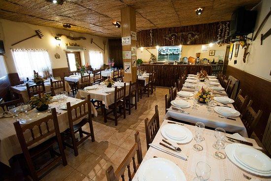 Moralina, Ισπανία: Restaurante
