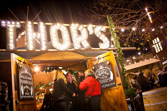 Join us at THORs tipi to warm up by the fire and enjoy a drink in York
