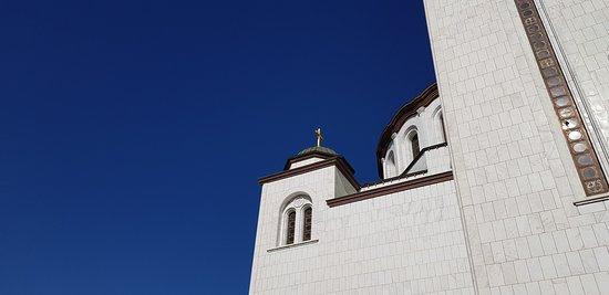 St. Sava Temple kilisesi Belgrad Sırbistan