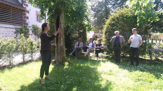 Thiron-Gardais, Frankreich: Visites guidées hors saison organisées sur réservation.