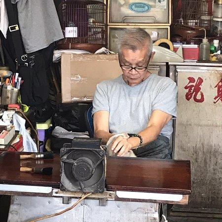 Fotografia de Passeio a pé pelo relacionamento de Hong Kong e China