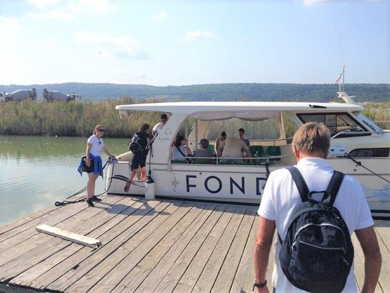 Fonda boat with photovoltaic panels - Picture of The Fonda