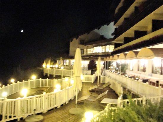 Egg am See, Austria: terasse la nuit