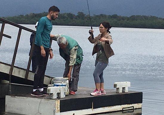 Hotel Costa Azul: Pier de pesca