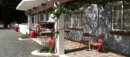 Loxton, South Africa: Front view of the Guesthouse and Coffeeshop