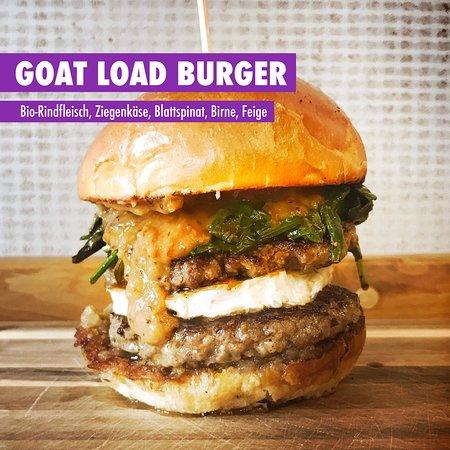 Marktredwitz, Niemcy: GOAT LOAD Burger