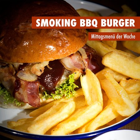 Marktredwitz, Niemcy: SMOKING BBQ Burger