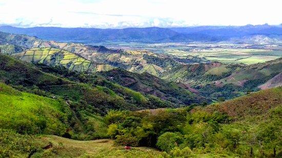 Balboa, Colombia: El municipio se puede percibir paisajes inigualables y vistas sobre otros municipios,