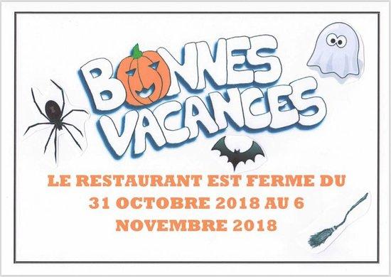 Ivry-la-Bataille, France : Congés Toussaint 2018
