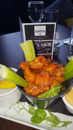 Athboy, Ireland: Spicy Chicken Wings