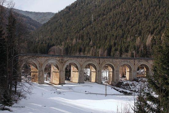 Semmering, Østrig: Adlitzgraben-Viadukt