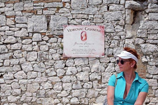 Vrsar, Croatia: памяти  Casanova