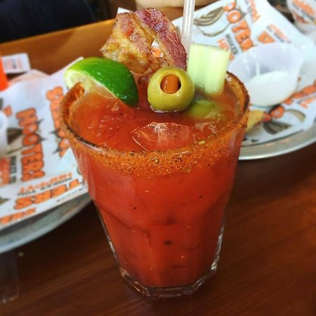 Caesar sundays!  The perfect hangover cure.