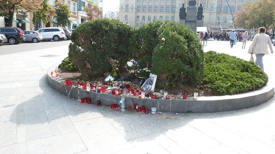 The Jan Palach Memorial