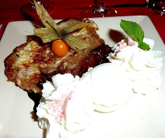 La Maison Rouge: Le superbe dessert