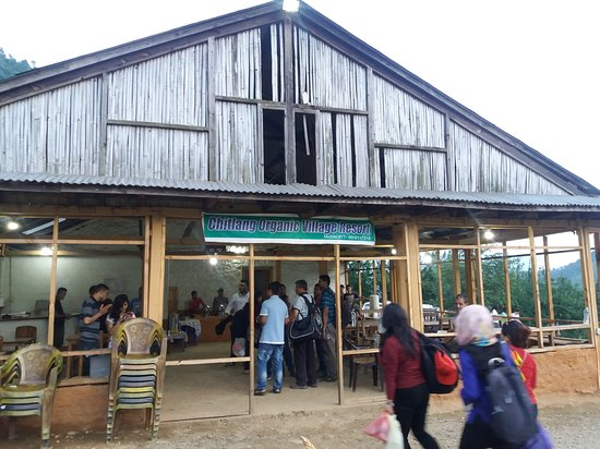 Chitlang Organic Village Resort - Reception cum restaurant