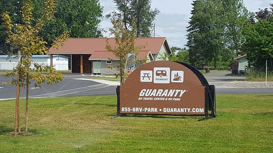 Junction City, OR: Welcome to out Guaranty RV Travel Center and Park