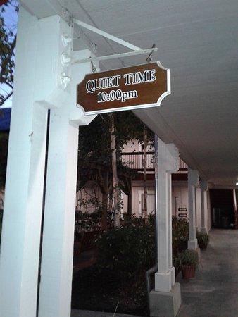 Sebastopol Inn: Quiet Time