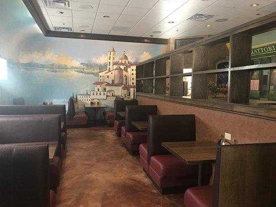 Othello's Italian Restaurant: Check out the new interior of Othello's